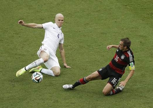 World Cup photos: U.S. vs. Germany