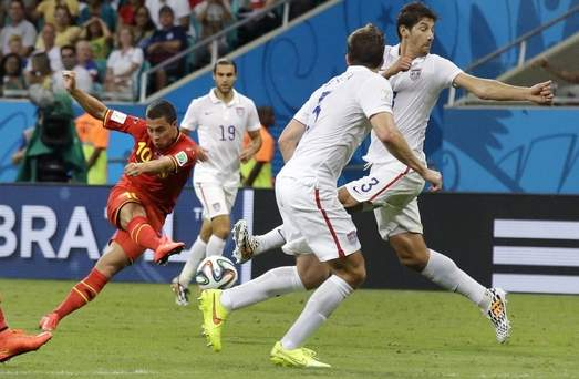 World Cup photos: US vs. Belgium